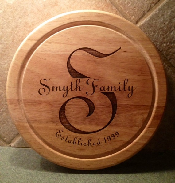 Laser Engraved Cheese Board Cutting Board With By
