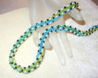 PATTERN Tri-Chevron Chain Bead Weaving Necklace