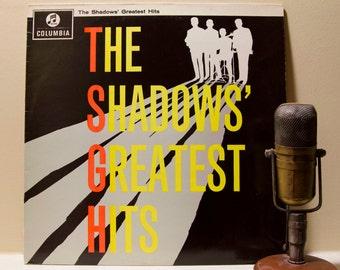 "ON SALE The Shadows Vinyl Record Album 1960s British Instrumental Pop Rock LP ""Greatest Hits"" (1963 Columbia)"