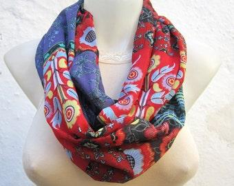infinity scarf, Tube scarf, Loop scarf, Circle scarf, Eternity scarf, Chiffon Scarf