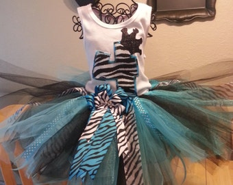 Zebra Tutu Outfit...perfect for birthdays, photo shoots, etc