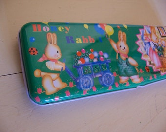 sweet easter pencil tin