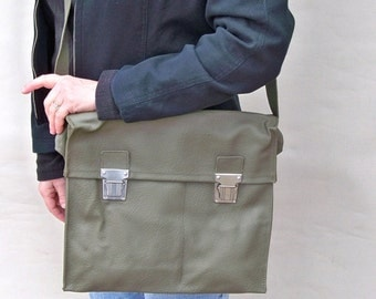 Vintage Swiss Army Medic Bag -  Messenger Bag, Shoulder Bag or Purse