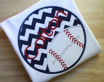 pretty sporty baseball circle shirt