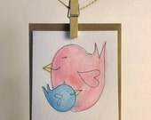 Happy Mother's Day Bird Card from Son/Daughter