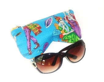 Eye Glass Pouch, Eyeglass Case, Summer Eyeglasses Case - Walk of the Dead