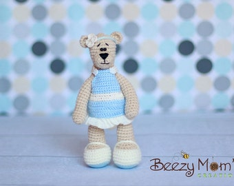 Download PDF crochet pattern 06 - Happy Bear