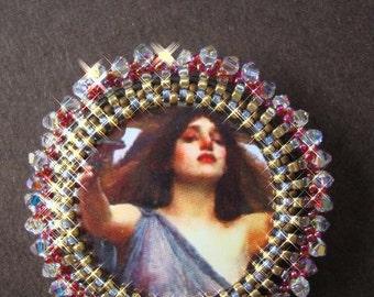 Sparkling Circe Pin