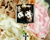 Floral Wedding Bouquet Charm Bridal Bouquet