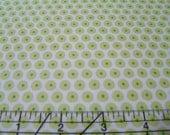 Fabric Yellow Happy Dot So Happy Together Riley Blake  1 Yard