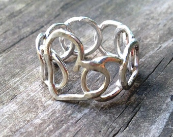 Encircled Heart Ring