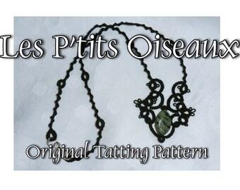 Les P'tits Oiseaux Necklace - TATTING PATTERN