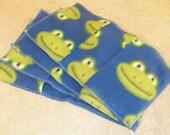 Swiffer Sweeper Fleece Pads- Frogs