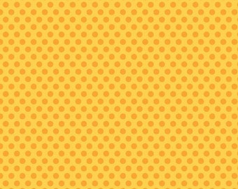 Zoofari Orange Dots by Doodlebug Designs for Riley Blake, 1/2 yard