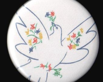 Bird of Peace Button