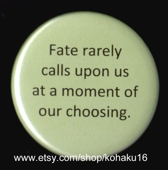 Be Ready For Fate Button