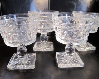 Vintage Anchor Hocking EPAC Glassware