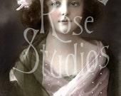 Ginger-Victorian/Edwardian Girl-Digital Image Download
