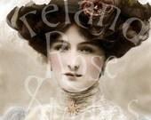 Doris-Victorian/Edwardian Woman-Digital Image Download