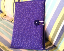 Quilted Book Style iPad Mini & Tablet Case - pattern no. 524