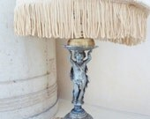 Vintage French Cherub Angel Lamp, The Best French Vintage