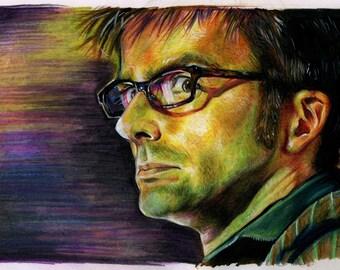 David Tennant Color Print
