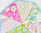 Bright and Lively Fabric Bunting Banner, photo prop, party decor