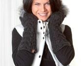 Bella Mittens - Highland Peruvian Wool - Brome Fair Winner