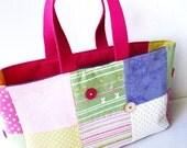 Patchwork Bag, Pastels