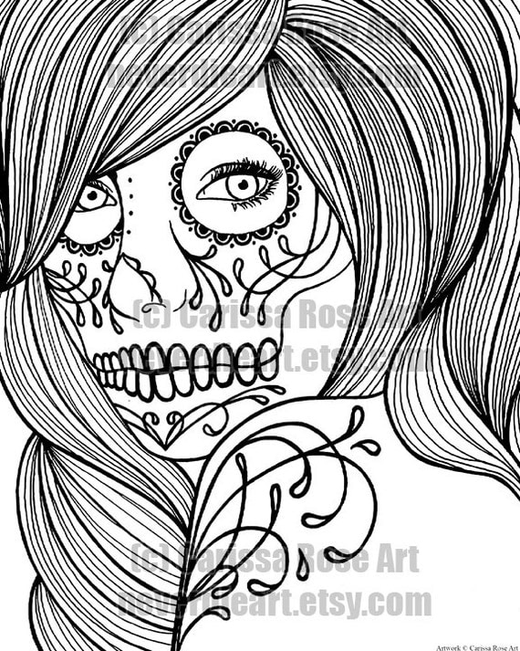 Digital Print Your Own Coloring Book Outline