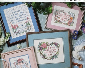 Scriptures for Special Days - Praying Hands - A Leisure Arts Cross Stitch Publication