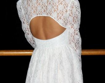 Wedding bolero, Lace bolero, Lace wedding bolero, Long sleeve, Unique bride