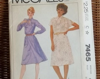 Vintage McCall's Dress Pattern