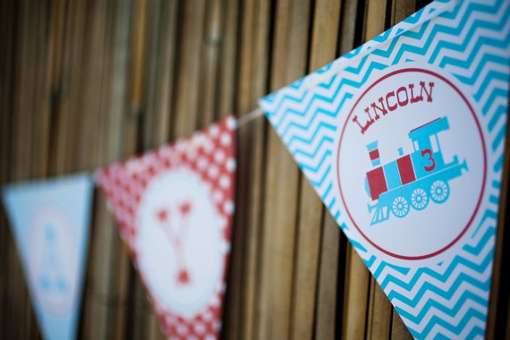 Train Banner (Bunting)