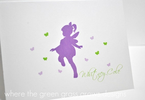 Fairy Butterfly Thank you Cards