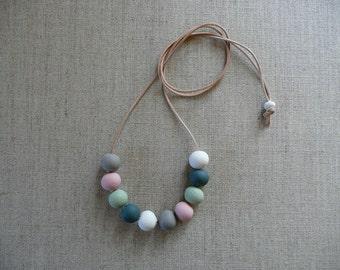 Multi-colour Ceramic Beads Necklace