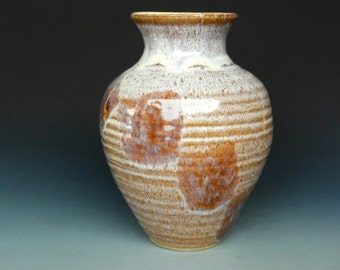 Flower Vase Speckled Stone A