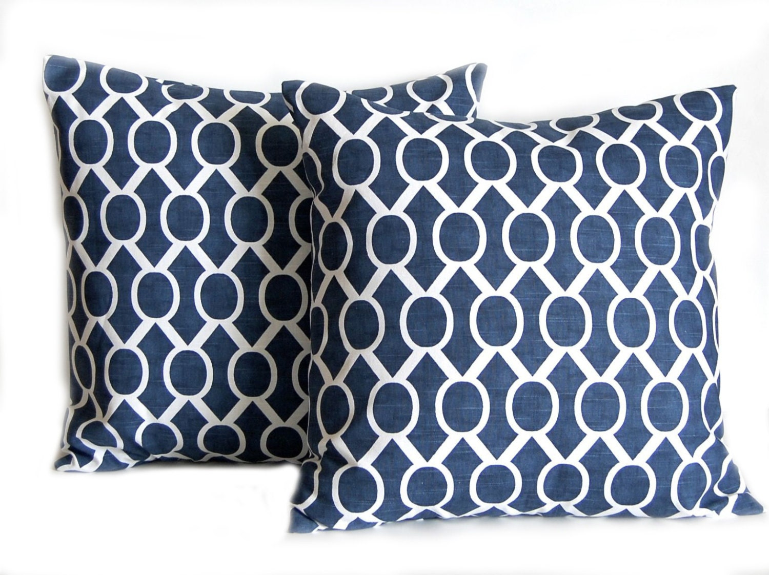 Navy Blue Decorative Pillow Covers : Navy Pillow Covers Blue Pillows Throw Pillow by FestiveHomeDecor
