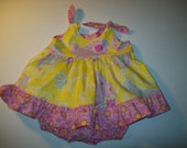 Baby Girl Toddler Pretty Little Things Knot Dress size 0 - 3 months READY TO SHIP