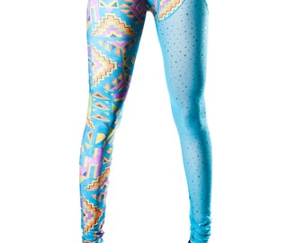 Lobotomy Blue Leggings