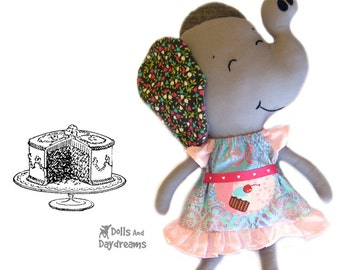 Peasant Dress Sewing Pattern PDF Doll Clothes Easy