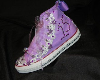 Custom Converse / Personalized High Top Shoes