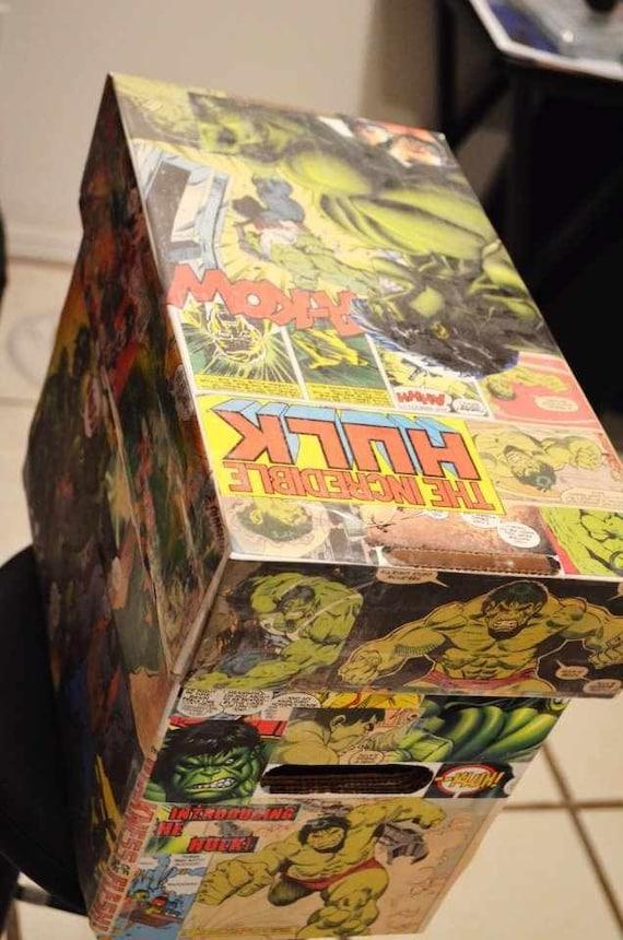 Custom Comic Book Short Box