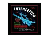 Small Journal - Interceptor Brand Vegetables - Fruit Crate Art Print Cover