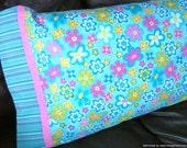 Turquoise Choice STANDARD Girls Pillowcase
