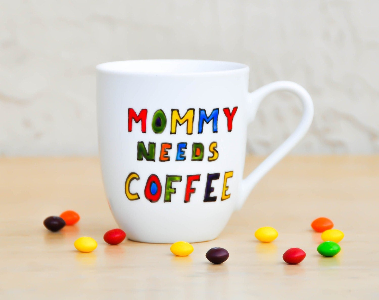 Mommy Needs Coffee Funny Quote Mug Personalized coffee cup