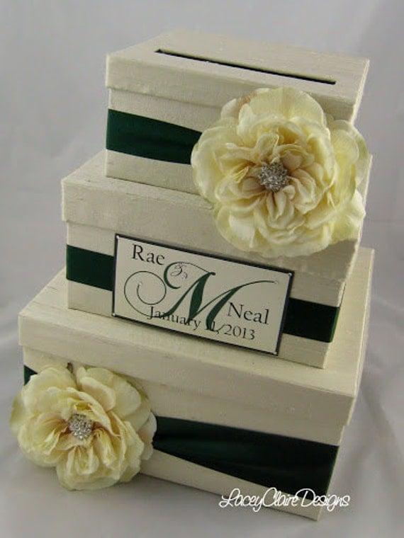 Wedding Planning Gift Box : Wedding Card Box Gift card box Money card box card holder, Custom Made