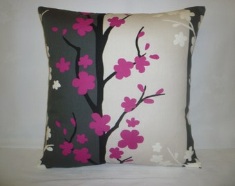 """Pillow Color choices Fuschia Pink Designer Cushion Cover Throw Scatter Pillow. ONE x 16"""" (40cm)"""