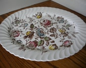 Staffordshire Bouquet Platter Johnson Brothers