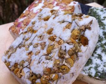 Chamomile Bergamot Bubble Bath Bar